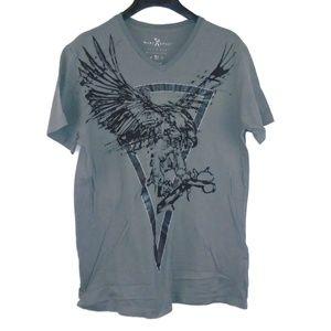Marc Ecko Shirt Eagle Scissors Graphic Tee Medium